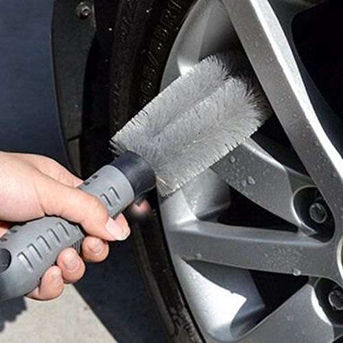 Car Wheel Cleaning Brush Soft Rubber Grip Brush Car Detailing Tire Wheel Wash Brush Drill Twisted Wheel Hub Brush Cleaner Tool Tire Brush Buy Car Online Wash Brush