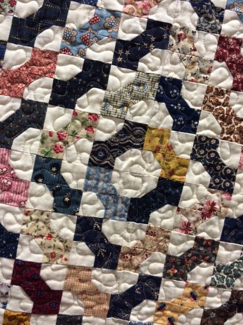 have to make a bow tie quilt. Good for scraps.:
