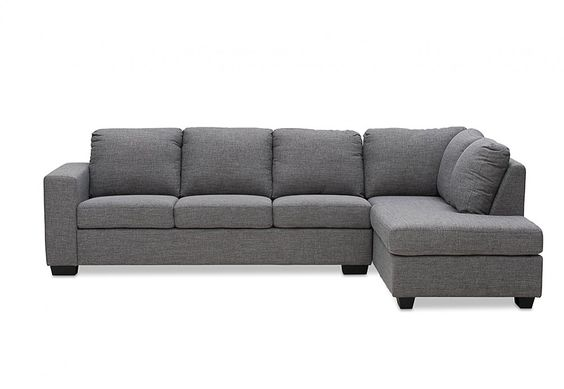 Bonza fabric corner lounge suite super amart house for Sofa bed amart
