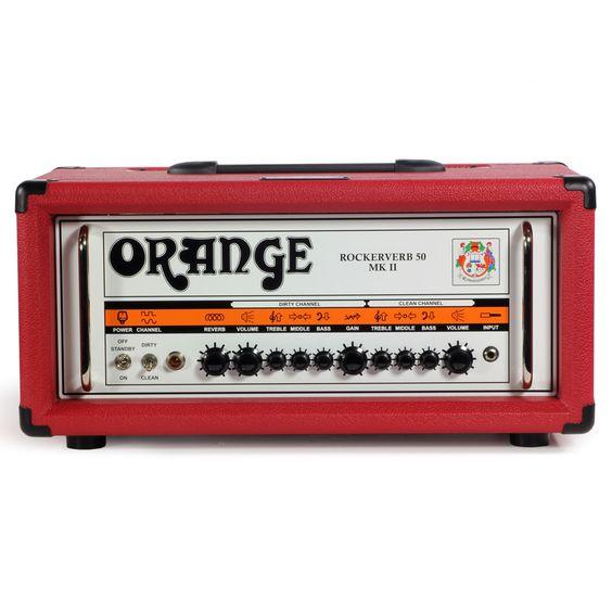 Orange Rockerverb 50 MkII Blood Orange