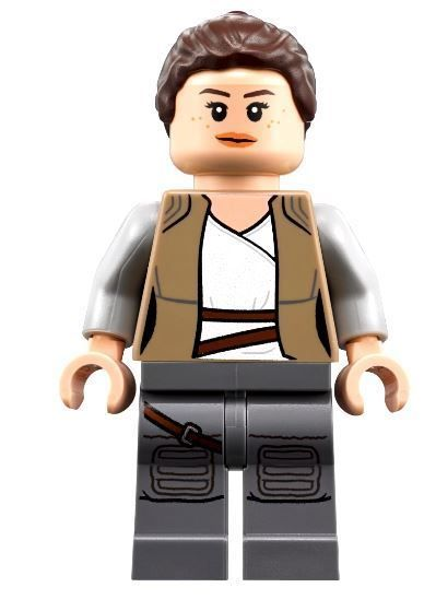 75189 LEGO® Star Wars Last Jedi Minifigure Rey with Lightsaber