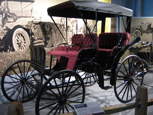 Cars trucks and the o 39 jays on pinterest for Car carriage
