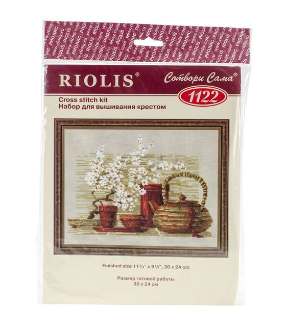 Riolis Tea Counted Cross Stitch Kit