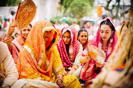 Rustic and Intimate Sikh wedding in Delhi | WedMeGood