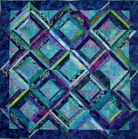 String Of Lights Quilt Pattern : Quilt, Colors and Light blue on Pinterest