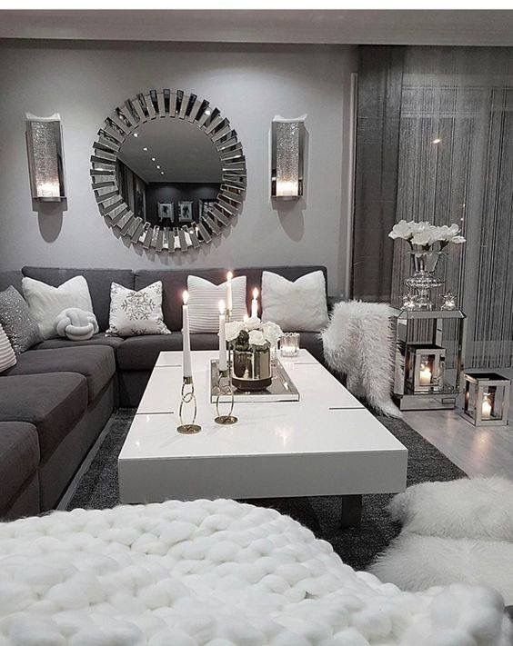 Pin By Arlene King On غرفة النوم In 2021 Living Room Decor Apartment Living Room Grey Living Room Decor Cozy