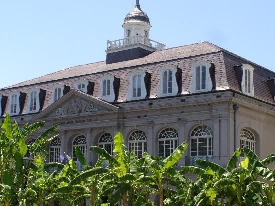 presbytere new orleans | Jackson Square: Presbytere (Mardi Gras museum with the Katrina exhibit ...