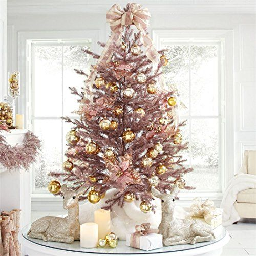 Brylanehome 4 Rose Gold Christmas Tree Rose Gold 0 Bry Https Www Am Rose Gold Christmas Tree Rose Gold Christmas Decorations Gold Christmas Decorations