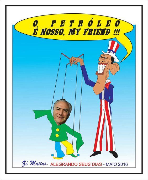 Charge política brasileira Michel Temer