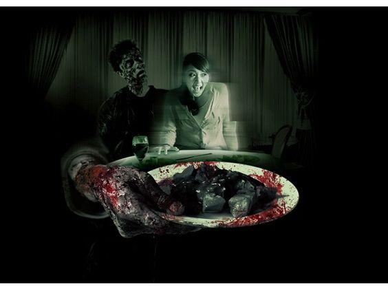 ゾンビシェフが催す恐怖の晩餐会 USJ新アトラクション | Fashionsnap.com | Fashionsnap.com