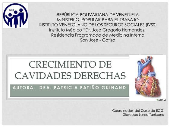 Crecimiento de Cavidades Derechas del Corazón y Electrocardiograma by Giuseppe Lanza Tarricone via slideshare
