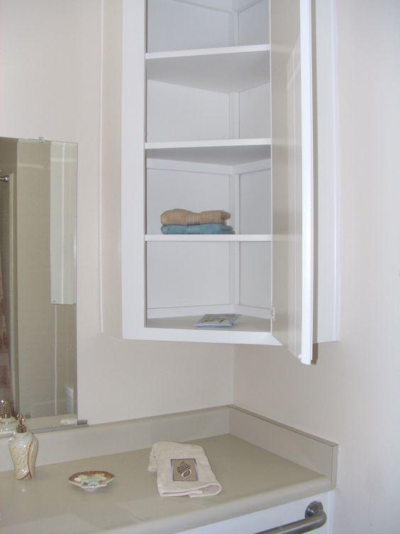 bathroom corner cabinet | For the Home | Pinterest | Bathroom ...