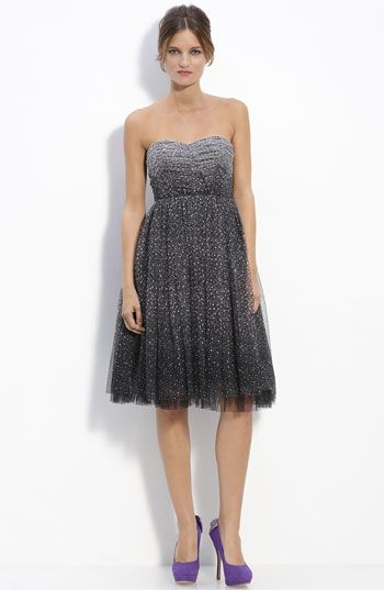 LOVE this ... not sure I need to buy all these cocktail dresses, with no where to go in them. But, loving it nonetheless.