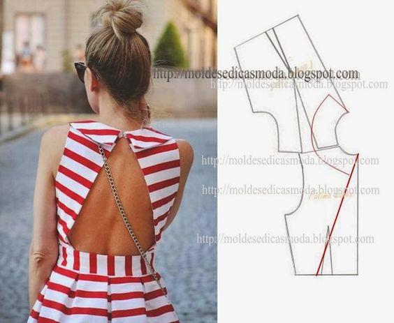 DETALHES DE MODELAÇÃO - 21 - Moldes Moda por Medida:
