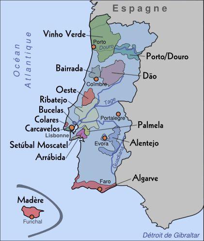 Les vins portugais