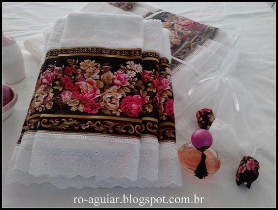 Conjunto - Banho,rosto e lavabo + sachê e embalagem by Ro-Aguiar, via Flickr