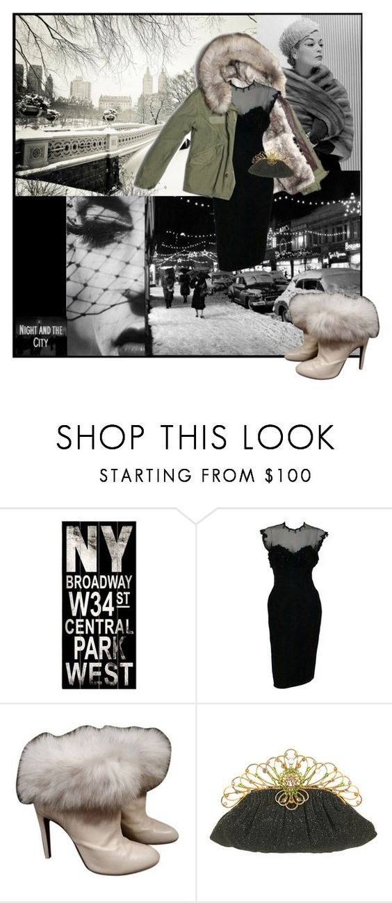 """""""SM7 Nº8 Vintage"""" by belldraw ❤ liked on Polyvore featuring ArteHouse, Mr & Mrs Italy, Sergio Rossi, modern, vintage, stylemission and SM7"""