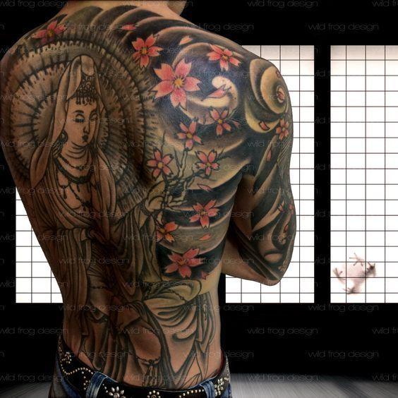 Tatuajes Japoneses Fotos Disenos Y Significados Tatuajes Japoneses Tatuajes Para Hombres Tatuajes Japoneses Tradicionales
