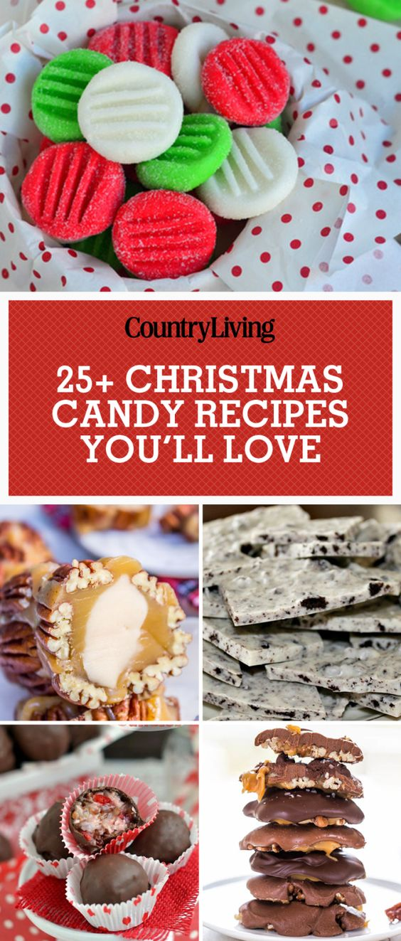 Christmas candy candy recipes and candy on pinterest for Homemade christmas goodies recipes