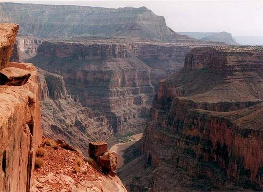 One of the 7  Wonders of the World-Grand Canyon