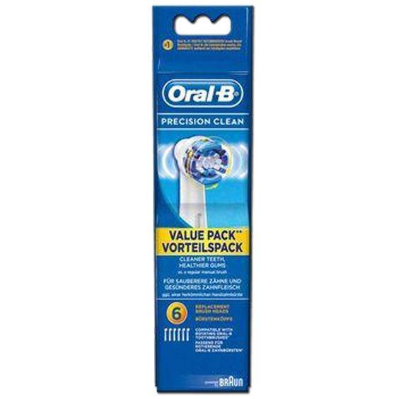 Oral-B Opzetborstel Precision Clean EB20 6 stuks 4210201848318