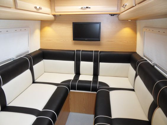 2014 Mercedes Sprinter U Shape Rear Lounge And Front