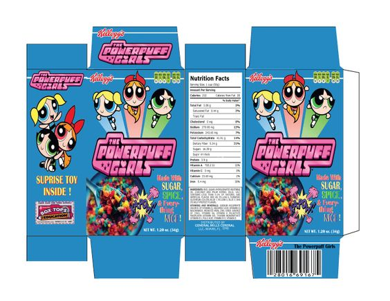 Cereal boxes, Box templates and Box design on Pinterest
