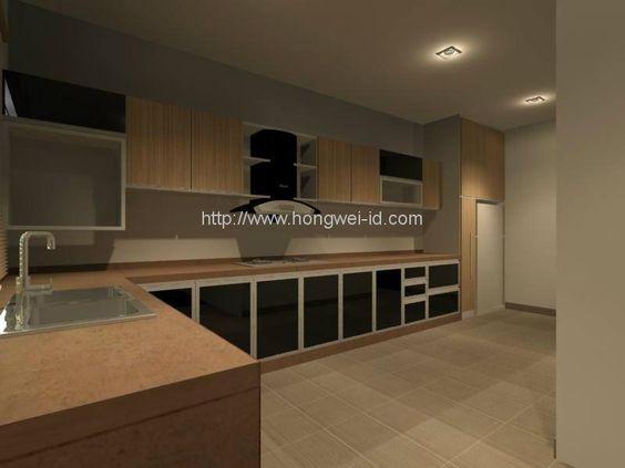 Kitchen Designs Product | WET KITCHEN, Kitchen Cabinet, Interior Design - Residential - Hong Wei ...