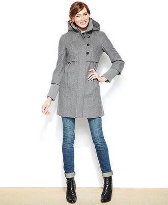 Babydoll Wool Coat