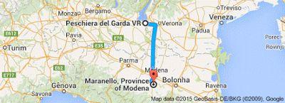 Donna gatta!: Saindo de Pescheira del Garda   Província de Veron...