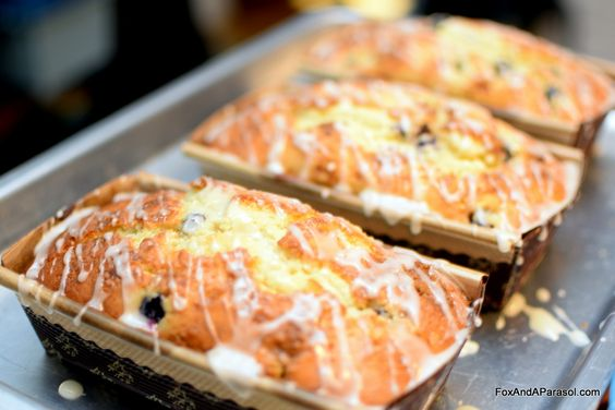 Lemon Blueberry Bread - Fox And A Parasol (Recipe via AllRecipes.com)