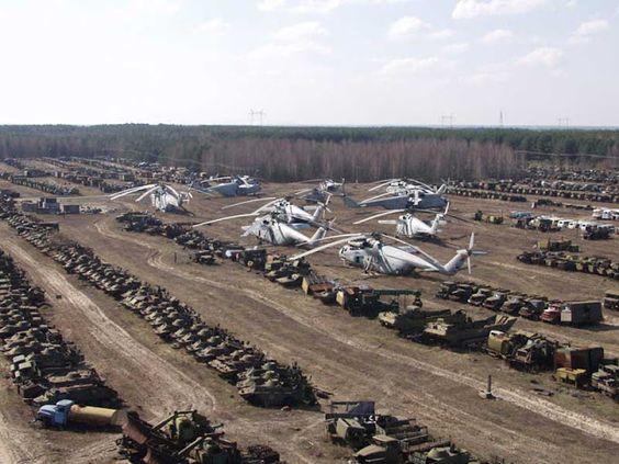 """Résultat de recherche d'images pour """"Chernobyl, abandoned technologies"""""""