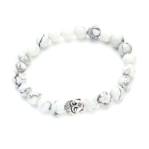 KOKY® White Turquoise Stone Beaded Stretch Bracelet with ... https://www.amazon.com/dp/B01IB0S7FA/ref=cm_sw_r_pi_dp_wFNHxbERHJ4M9