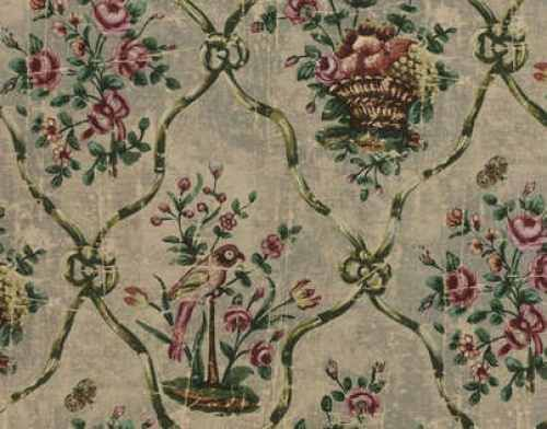 DESIGNER Floral Yellow Cameo ZOFFANY Aubusson Curtain Upholstery Cotton Fabric