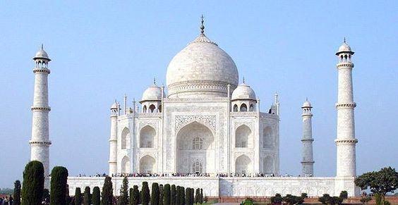 The Taj Mahal (1630 A.D.) Agra, India