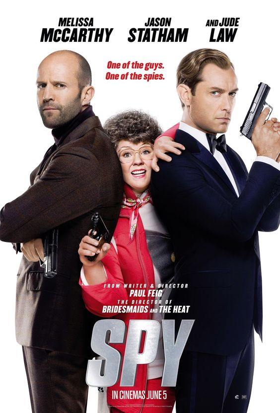 Spy - Jason Statham is brilliant in this hilarious Melissa McCarthy film. McCarthy's best film since The Heat, or possibly Bridesmaids - #spy #melissamcarthy #kurttasche