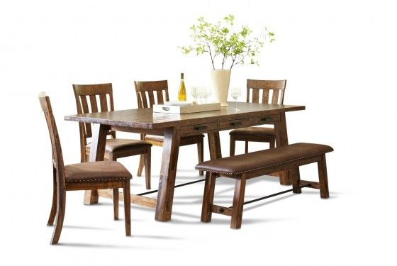Cannon Valley Rectangular Table Dining Room Mor Furniture For