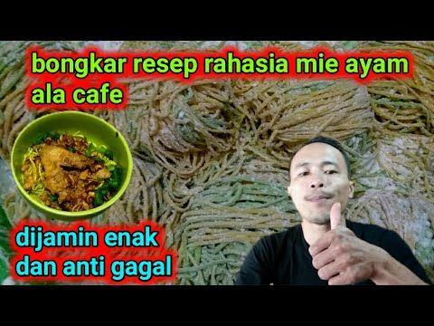 Ide Usaha Cara Membuat Mie Ayam Ala Cafe Youtube Gagal Kafe