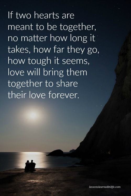 If Its Meant To Be Love Quotes
