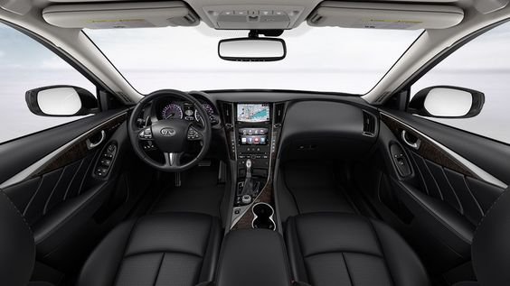 Infiniti 2014 Q50 Hybrid Interior Color Graphite Leather Interior Maple Wood Infiniti Q50 Infiniti Usa Sedan