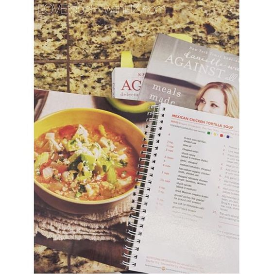 21 Day Fix chicken tortilla soup. LOVED! My family and I really