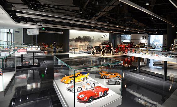 Meilensteine der Automobilentwicklung | Collection Pavilion | Shanghai Auto Museums | Atelier Brückner