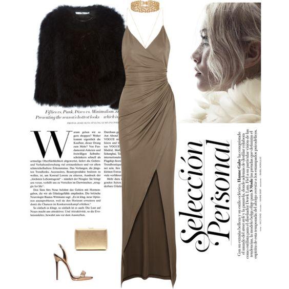 Classy Chic! by nissaat on Polyvore featuring moda, Balmain, Givenchy, Giuseppe Zanotti, Lele Sadoughi, H&M, women's clothing, women's fashion, women and female