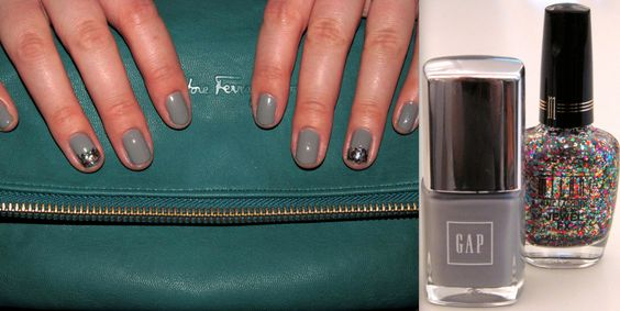 Cloudy Gems Manicure How-To