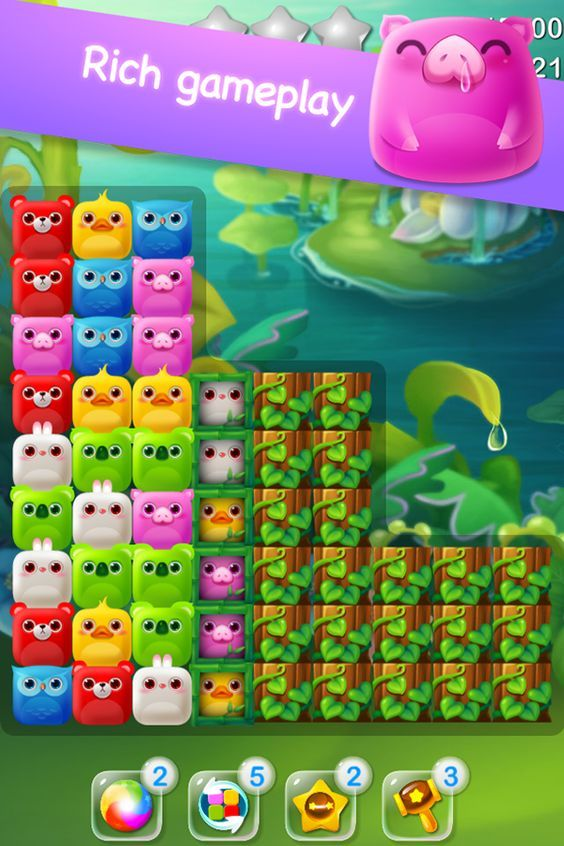 cute pop (iphone game) on Behance: