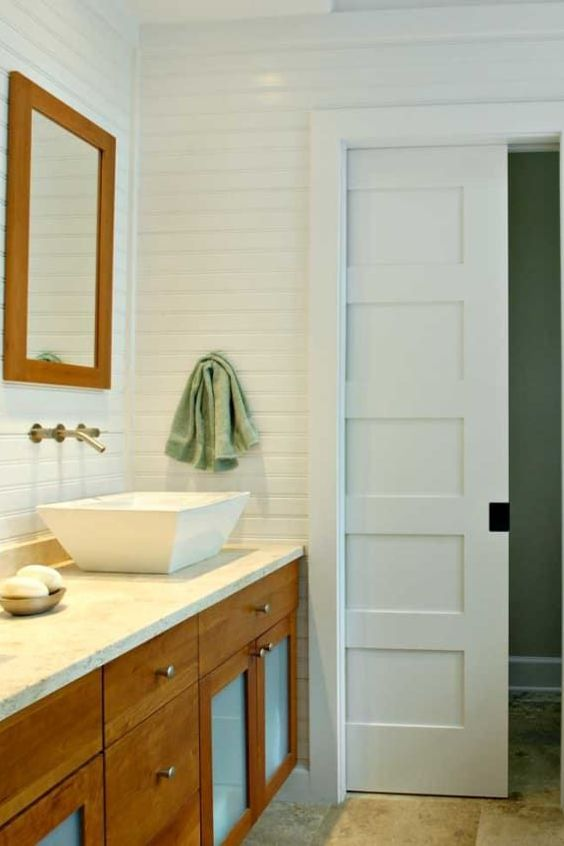 Pocket Door Bathroom Window Cabinetry Property Tile Sliding Pocket Doors Pocket Door Installation Sliding