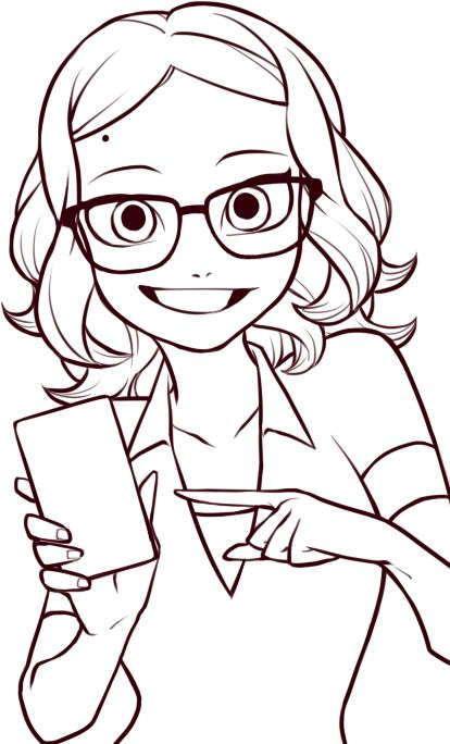 Miraculous Ladybug Coloring Pages as well Miraculous Ladybug Coloring ...
