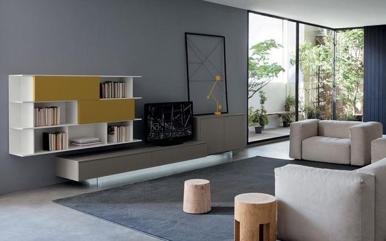 Tvs And Wands On Pinteresteine Tv Wand Aus Paletten Und Genug Platz