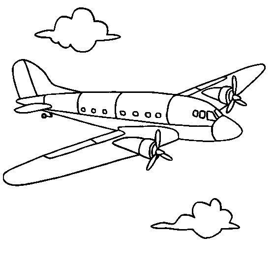 - Airplane Coloring Book Airplane Coloring Pages, Birthday Coloring Pages,  Coloring Pages