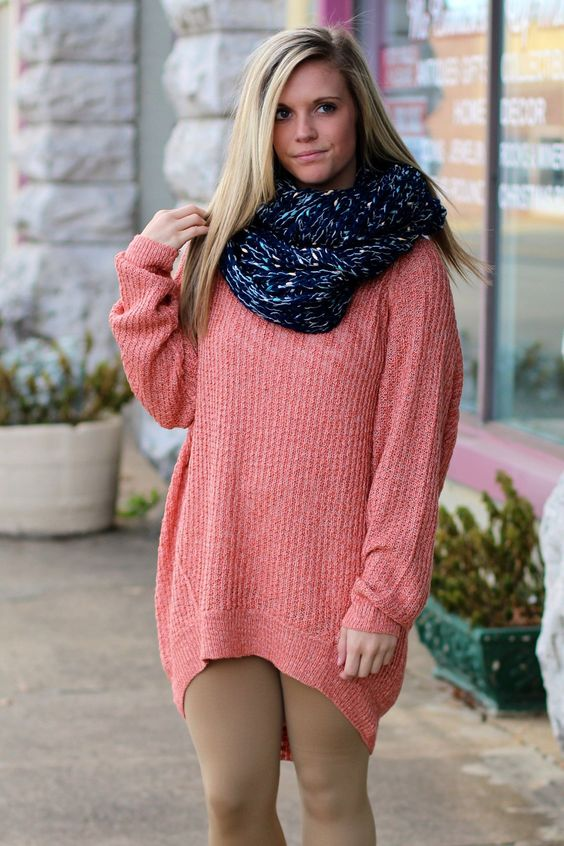 Lounge Oversized Sweater {Blush} | The Fair Lady Boutique